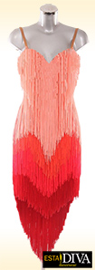 Latin Fringe Dress - Frangia Abito