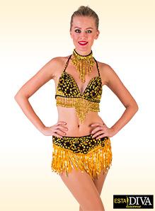 ef0411e122ff2 Fringe Dance Costume | ESTA DIVA Dancewear