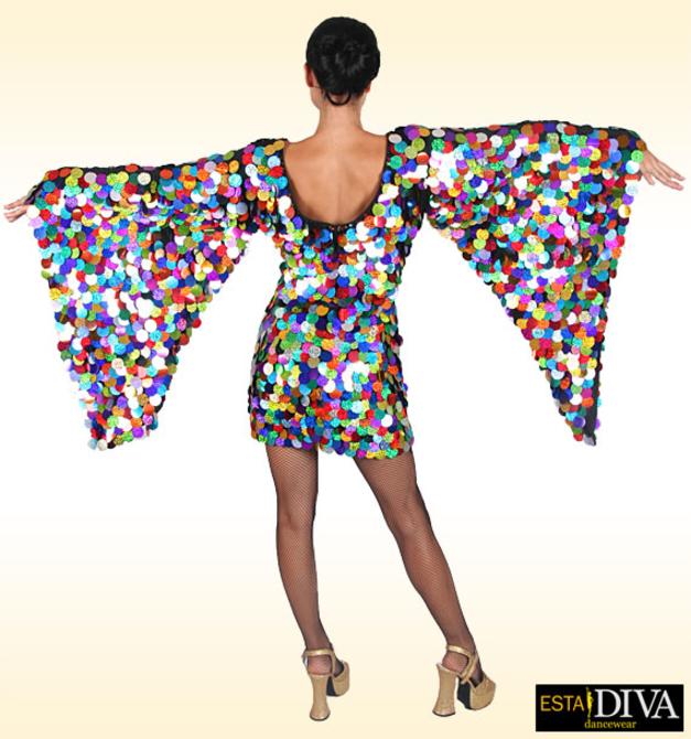 Diva Sequin Dress - Show Queen Diva Sequin Dress Cabaret Drag ...