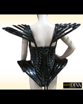 Diva Singer Leotard - Gaga Black