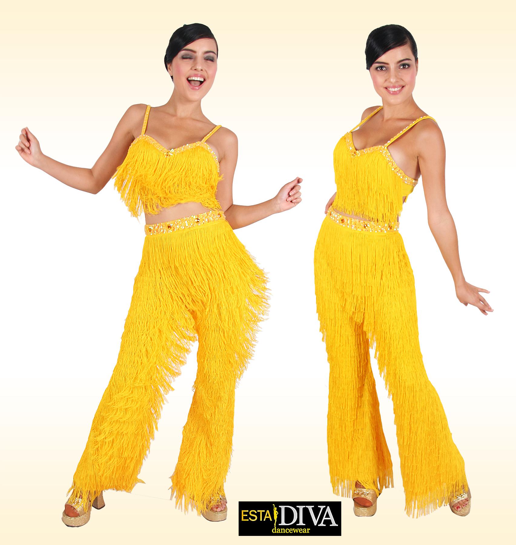 05eaf5cbcf1c5 Fringe Costume - Latin Salsa [fringe-pants-top-3] - €165.00 - ESTA ...